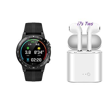 رخيصةأون ساعات ذكية-m5 smartwatch bt البدنية تعقب دعم دعم إخطار / رصد معدل ضربات القلب المدمج في نظام تحديد المواقع الرياضة ووتش الذكية للهواتف سامسونج / فون / الروبوت