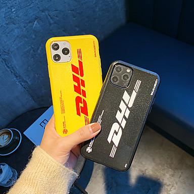 Недорогие Кейсы для iPhone 7 Plus-Кейс для Назначение Apple iPhone 11 / iPhone 11 Pro / iPhone 11 Pro Max С узором Кейс на заднюю панель Слова / выражения ТПУ
