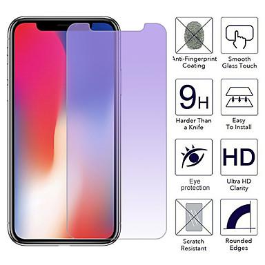 Недорогие Защитные плёнки для экрана iPhone-фиолетовый свет для ухода за глазами iphone x 8 7 6 6 s плюс защитная пленка из закаленного стекла