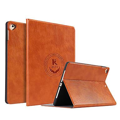 رخيصةأون أغطية أيباد-غطاء من أجل Apple iPad Air / iPad 4/3/2 / iPad Mini 3/2/1 ضد الصدمات / ضد الغبار / نحيف جداً غطاء كامل للجسم جملة / كلمة جلد PU / TPU