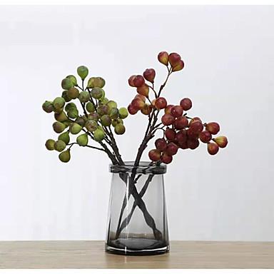 الزهور الاصطناعية 6 فرع الدعائم المرحلة الكلاسيكية أسلوب بسيط الفاكهة