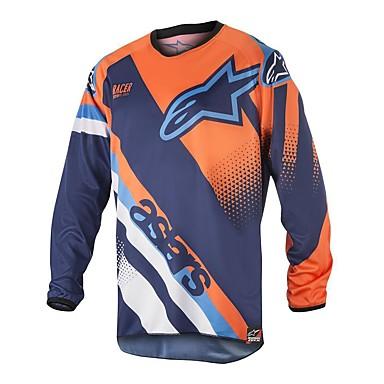 billige Motorcykeljakker-motorcykeltrøje en stjerne bjerghastighed ned brugerdefineret udendørs sportscykeldragt langrend racing dress farts ned t-shirt