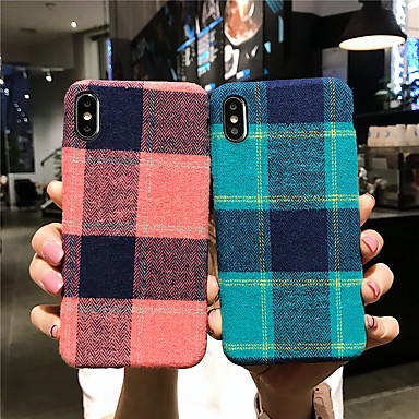 voordelige iPhone-hoesjes-hoesje Voor Apple iPhone 11 / iPhone 11 Pro / iPhone 11 Pro Max Patroon Achterkant Geometrisch patroon tekstiili