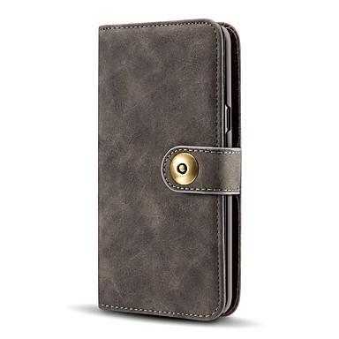 Недорогие Чехлы и кейсы для Galaxy S-Кейс для Назначение SSamsung Galaxy S9 / S9 Plus / S8 Plus Кошелек / Бумажник для карт / Защита от удара Чехол Однотонный Кожа PU