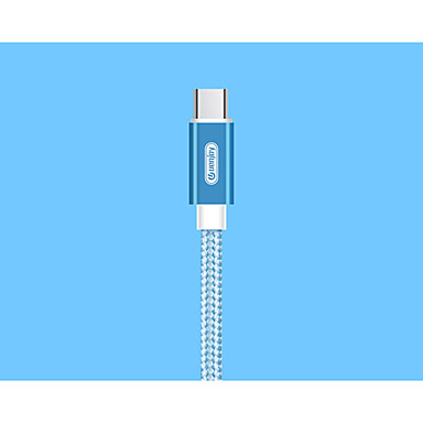 cheap New Arrivals-Type-C Cable 1m(3Ft) Quick Charge Aluminum / Nylon USB Cable Adapter For Samsung / Huawei / Nokia