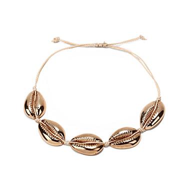 نسائي خلخال قشرة بانغك شائع خلخال مجوهرات ذهبي من أجل مهرجان شارع