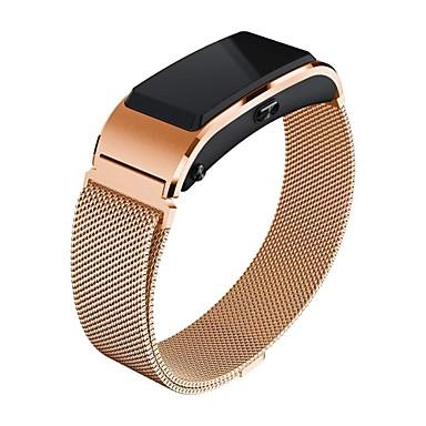 voordelige Smartwatch-accessoires-horlogeband voor huawei b3 huawei milanese lus roestvrij stalen polsband