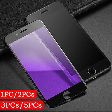 cheap iPhone Screen Protectors-1PC/2PCs/3PCs/5PCs Full Coverage Screen Printing Violet Eye Protection Iphone 6 7 8 P Tempered Glass Screen