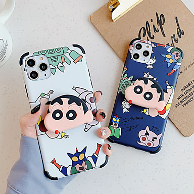 cheap Cell Phone Cases-Case For Apple iPhone 11 / iPhone 11 Pro / iPhone 11 Pro Max Shockproof / Pattern Back Cover Cartoon PC