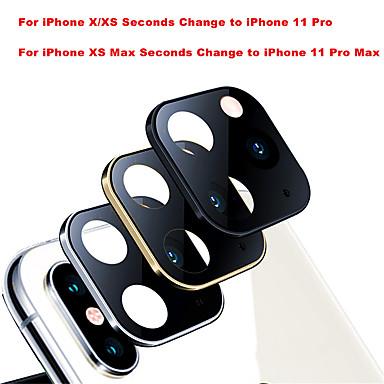 voordelige iPhone screenprotectors-camera schermbeschermer voor iphone x / xs / xs max seconden wissel naar iphone 11 pro 11 pro max