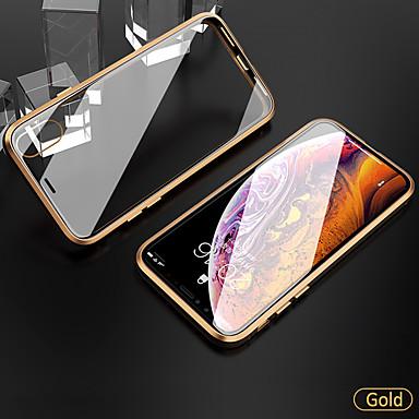 Недорогие Кейсы для iPhone 6-Кейс для Назначение Apple iPhone 11 / iPhone 11 Pro / iPhone 11 Pro Max Защита от удара / Прозрачный Чехол / Бампер Прозрачный Закаленное стекло