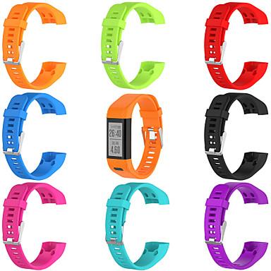 baratos Acessórios para Smartwatch-pulseira de relógio para vivosmart hr (plus) garmin fivela clássica pulseira de silicone