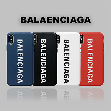 voordelige iPhone-hoesjes-hoesje Voor Apple iPhone 11 / iPhone 11 Pro / iPhone 11 Pro Max Stofbestendig / Mat / Patroon Achterkant Tegel / Woord / tekst / Effen TPU