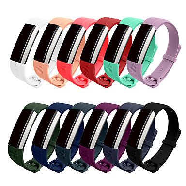 voordelige Smartwatch-accessoires-horlogeband voor fitbit alta hr / fitbit alta fitbit klassieke gesp siliconen / tpe polsband
