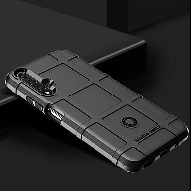 voordelige Huawei Mate hoesjes / covers-hoesje Voor Huawei Huawei Nova 4 / Huawei P20 / Huawei P20 Pro Schokbestendig Achterkant Geometrisch patroon Siliconen
