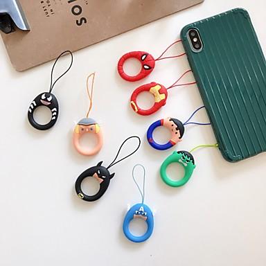 olcso Mobiltelefon amulettek-Mobiltelefon akasztó Phone szíj Silica Gel Univerzális