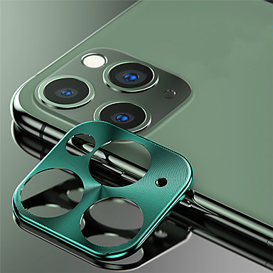 voordelige iPhone screenprotectors -metalen cameralensbeschermer voor Apple iPhone 11/11 pro / 11 pro max high definition (hd)