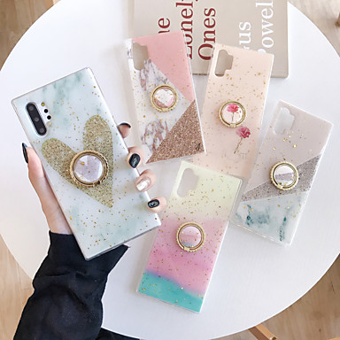 voordelige iPhone 8 hoesjes-hoesje Voor Apple iPhone 11 / iPhone 11 Pro / iPhone 11 Pro Max Glitterglans Achterkant Glitterglans PC