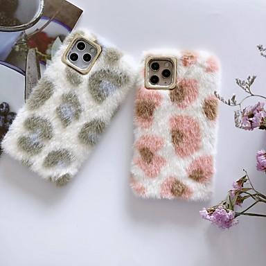 voordelige iPhone-hoesjes-hoesje Voor Apple iPhone 11 / iPhone 11 Pro / iPhone 11 Pro Max Schokbestendig / Stofbestendig / Reliëfopdruk Achterkant Geometrisch patroon / Pluche TPU / silica Gel