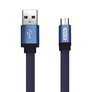 cheap New Arrivals-Micro USB Cable 1.5m(5Ft) Quick Charge Aluminum / Nylon USB Cable Adapter For Samsung / Huawei / Nokia
