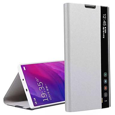 Недорогие Кейсы для iPhone 6 Plus-яблоко применимо к 11pro max официальный оригинальный чехол для мобильного телефона xs max умное зеркало флип анти-осень 11 кожаный чехол 6/7 / 8plus умная функция сна