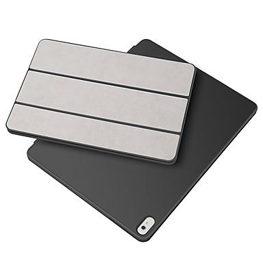 رخيصةأون أغطية أيفون-غطاء من أجل Apple iPad Pro 11'' أورجامي / مغناطيس / النوم / الإيقاظ التلقائي غطاء كامل للجسم لون سادة جلد PU