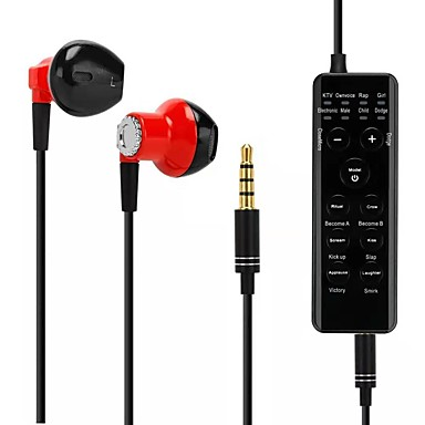 olcso Diktafonok-hangváltó fülhallgató fülhallgató douyin élő / karaoke / gyerekek / telefon / ipad / számítógép / horgony / cam lány