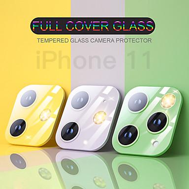 voordelige iPhone screenprotectors-clear back camera lens screen protector beschermfolie gehard glas voor iphone 11 11 pro 11 pro max 9 uur volledige dekking