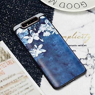 voordelige Galaxy Note-serie hoesjes / covers-hoesje Voor Samsung Galaxy S9 / S9 Plus / S8 Plus Mat / Patroon Achterkant Bloem TPU