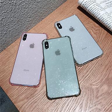 voordelige iPhone-hoesjes-hoesje Voor Apple iPhone 11 / iPhone 11 Pro / iPhone 11 Pro Max Schokbestendig / Doorzichtig Achterkant Effen TPU