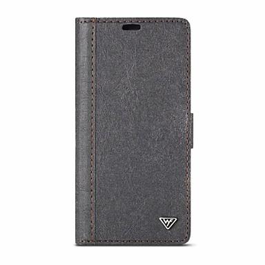 Недорогие Кейсы для iPhone-Кейс для Назначение Apple iPhone 11 / iPhone 11 Pro / iPhone 11 Pro Max Кошелек / Бумажник для карт / со стендом Чехол Имитация дерева / Плитка Настоящая кожа / ПК