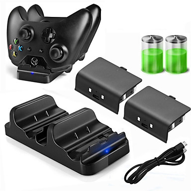 cheap Video Game Accessories-DOBE Charger Kits / Batteries For Xbox One  New Design Charger Kits / Batteries PPABS / Metal 1 pcs unit