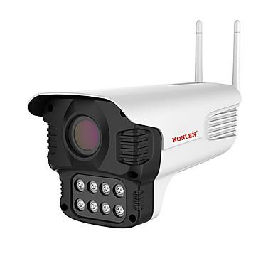 رخيصةأون كاميرات المراقبة IP-konlen في الهواء الطلق 3mp واي فاي كاميرا ip h.265 onvif ضوء رصاصة الكاميرا yoosee starlight ليلة cctv الأمن الفيديو المراقبة