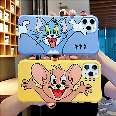 cheap iPhone Cases-Case For Apple iPhone 11 / iPhone 11 Pro / iPhone 11 Pro Max Shockproof / Frosted Back Cover Cartoon TPU
