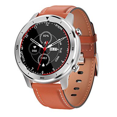 povoljno Pametni satovi-br.1 dt78 muškarci žene smartwatch android ios bluetooth vodootporan zaslon osjetljiv na dodir monitor otkucaja srca informacije o vježbanju podsjetnik 1,3 inča zaslon punog kruga