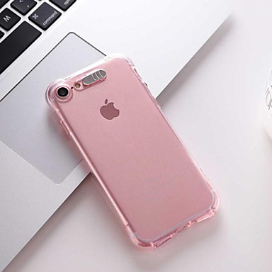 voordelige iPhone-hoesjes-hoesje Voor Apple iPhone 11 / iPhone 11 Pro / iPhone 11 Pro Max LED-knipperlicht Achterkant Effen TPU