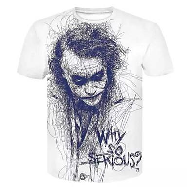 cheap Christmas Deals-Men's Daily T-shirt - Portrait White