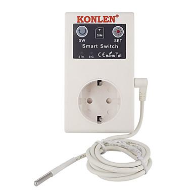 povoljno Sigurnosni senzori-16a gsm utičnica utičnica daljinski upravljač prekidač napajanja osjetnik temperature pametni kućni relej regulator sms app otvarač vrata garažnih vrata