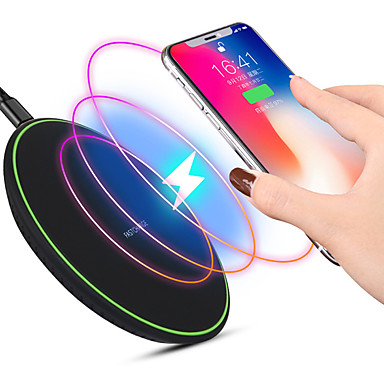 cheap iPod Accessories-Ultra thin QI Wireless Fast Charger Mobile Phone Wireless Fast Charging Pad for iPhone SANSUNG