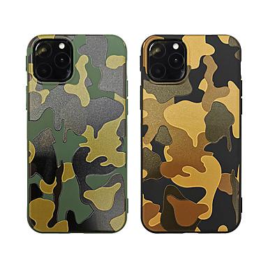 Недорогие Кейсы для iPhone 7-Кейс для Назначение Apple iPhone 11 / iPhone 11 Pro / iPhone 11 Pro Max С узором Кейс на заднюю панель Полосы / волосы ТПУ