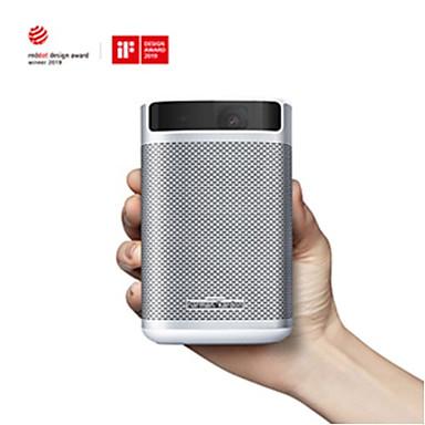 abordables Accesorios Audio y Vídeo-xgimi mogo pro proyector portátil inteligente 1080p mini proyector android 9.0 con 10400 mah batería full hd dlp proyector portátil
