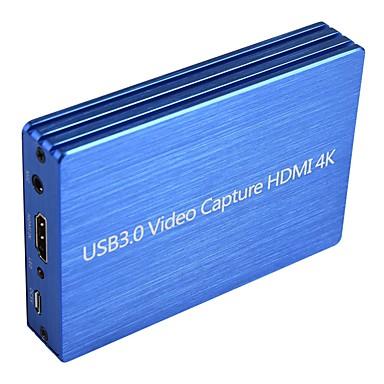 olcso Audió és videó-4 kHz-től usb-ig 3.0 videó rögzítőkártya dongle 1080p 60fps HD videofelvevő-megragadó készülék az élő streaming játék rögzítéséhez
