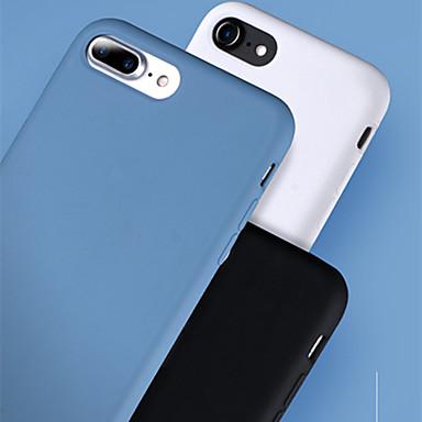 Недорогие Кейсы для iPhone 7-Кейс для Назначение Apple iPhone 8 Pluss / iPhone 8 / iPhone 7 Plus Защита от удара / Ультратонкий / Матовое Кейс на заднюю панель Однотонный ТПУ / пластик / Металл