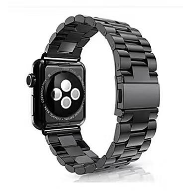 رخيصةأون قيود ساعات-الفولاذ المقاوم للصدأ حزام حزام إلى أسود / فضة / ذهبي 17CM / 6.69 بوصة 2.3cm / 0.91 Inches