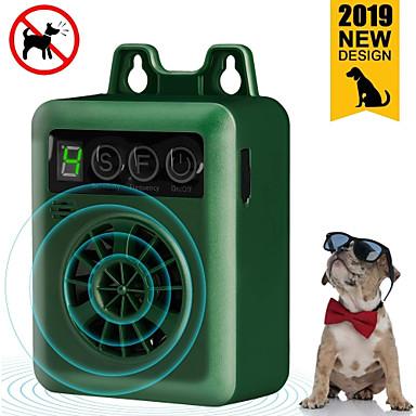 olcso Kutya Tartás és ápolás-kedvtelésből tartott kutya ultrahangos ugatásgátló berendezés korszerűsített újratölthető digitális ugatásellenőrző kültéri ugatásgátló kutya ugatásgátló hanghatások visszatartó eszközök hangtompító