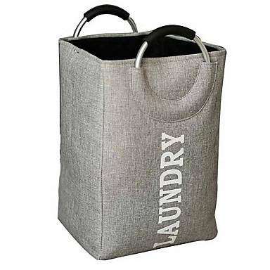 povoljno Kutije za spavaću i dnevnu sobu-velika sklopiva torba za pranje rublja s ručkama, sklopiva košarica za odjeću od 13 x 13 x 20 inča za spremanje rublja