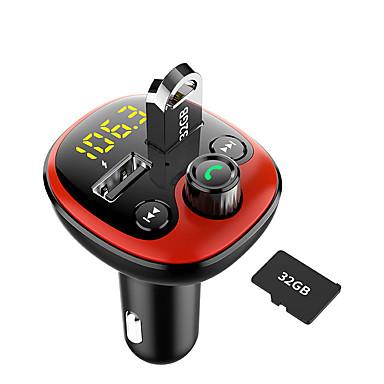Недорогие Быстрые зарядные устройства-автомобильный mp3-плеер автомобиля Bluetooth-динамик FM-передатчик Bluetooth автомобиль быстрый заряд