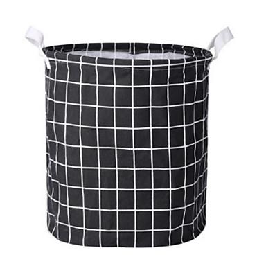 povoljno Kutije za spavaću i dnevnu sobu-sklopiva prugasto rublje kočnica vedro prljava odjeća košara za pranje rublja kućište organizatora