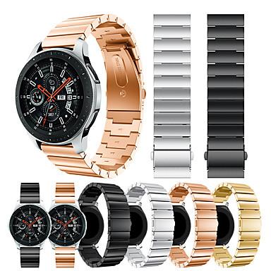 Недорогие Часы для Samsung-smartwatch band для samsung galaxy 46 / gear s3 / s3 classic / s3 frontier / gear 2 r380 / 2 neo r381 / sport band высококачественный модный классический пряжка, ремешок на запястье из нержавеющей
