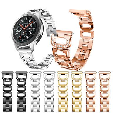 Недорогие Часы для Samsung-smartwatch band для samsung galaxy 46 / gear s3 / s3 classic / s3 frontier / gear 2 r380 / 2 neo r381 / sport band высококачественный дизайн ювелирных изделий из нержавеющей стали ремешок на